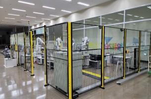 산업용 안전펜스 설치 사례 - 폴리텍대학(광주)